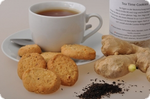 Tea Time Cookies mit Ingwer. Ke...
